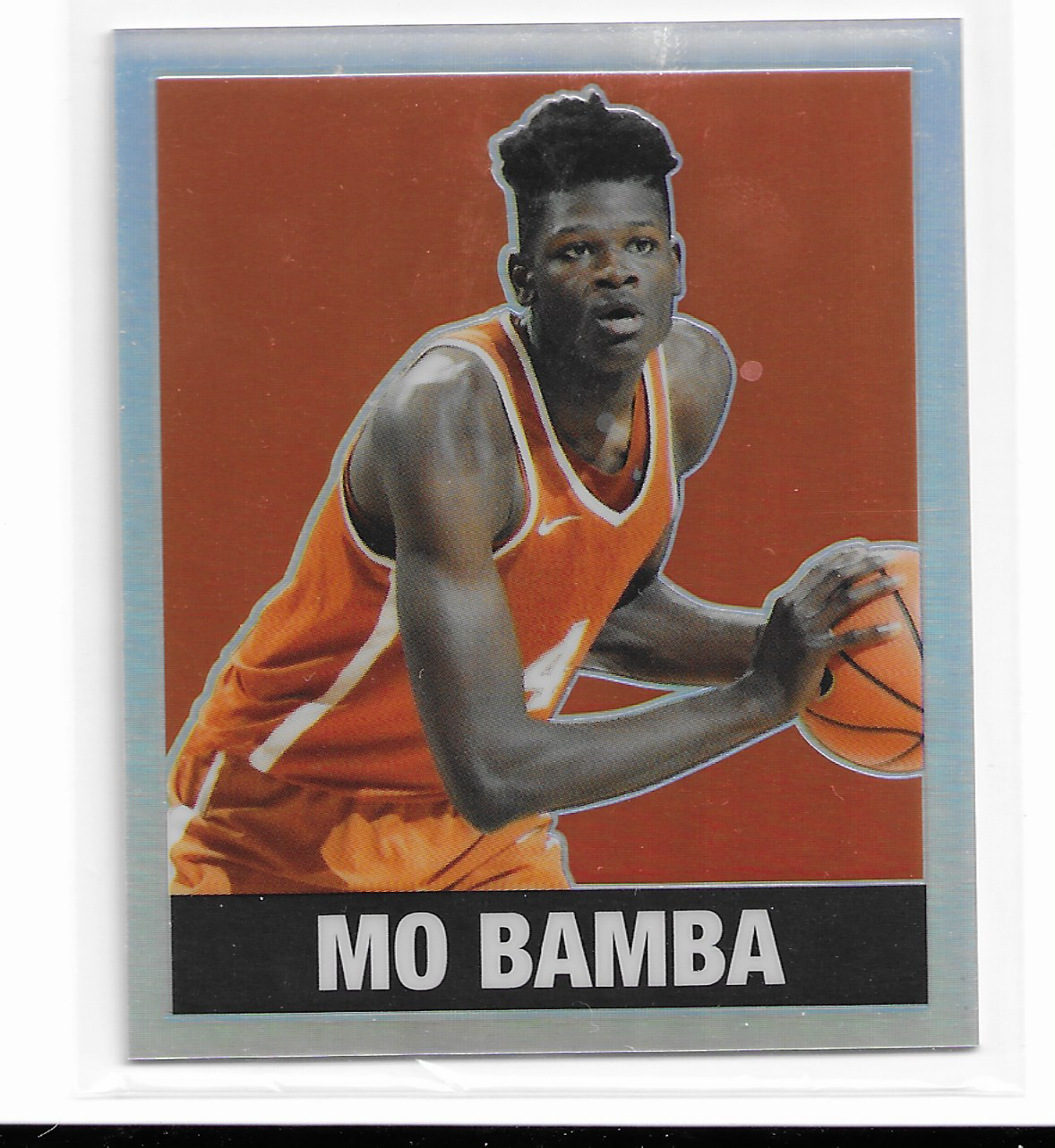 2018 Leaf Originals metal MO Bamba 1948 Throwback Orange Refractor rc /4