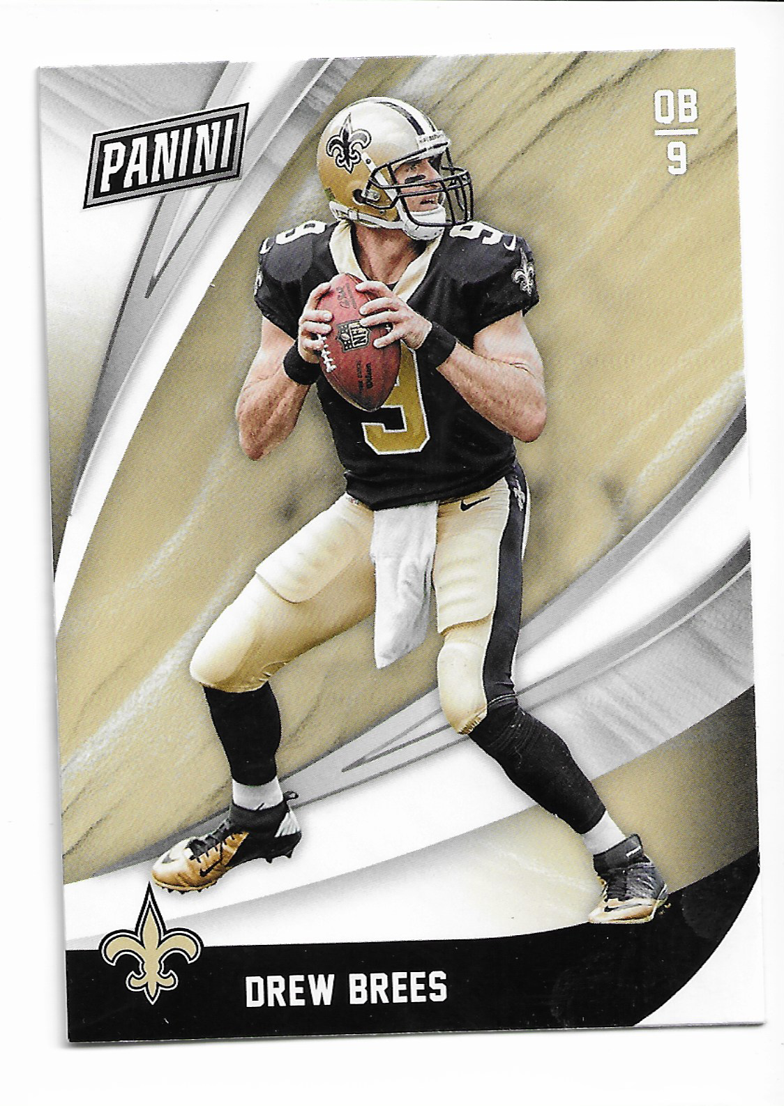 2018 Panini Black Friday Drew Brees card