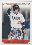 2015 Stars and Stripes Dansby Swanson prospect USA rc