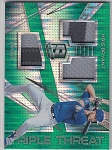2018 Panini Spectra Kris Bryant Emerald Triple Patch card 5/5