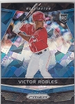 2018 Panini Prizm Victor Robles rookie Blue Ice rc /149