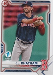 2021 Bowman 1st Edition CJ Chatham