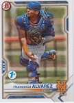 2021 Bowman 1st Edition Francisco Alvarez