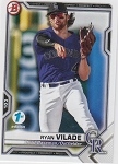 2021 Bowman 1st Edition Ryan Vilade