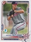 2021 Bowman 1st Edition Jackson Rutledge