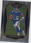 2018 Panini National Saquon Barkley rookie shimmer refractor rc /399