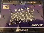 2019 Panini Prime Racing hobby Box.  8 cards per box.  Ripped Live at Packwars.org