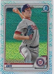 2020 Bowman Chrome Tim Cate mega box refractor prospect rc