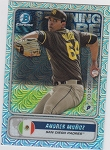 2020 Bowman Chrome Andres Munoz Spinning the Globe mega box refractor prospect rc