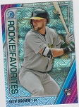 2020 Bowman Chrome Rookie Favorites Seth Brown mega box refractor prospect rc