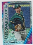 2020 Bowman Chrome Rookie Favorites Jesus Luzardo mega box refractor prospect rc