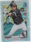 2020 Bowman Chrome Nick Madrigal mega box refractor prospect rc