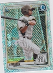 2020 Bowman Chrome Xavier Edwards mega box refractor prospect rc