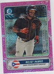 2020 Bowman Chrome Spinning the Globe Heliot Ramos pink refractor prospect rc /199