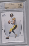 2007 SP Authentic Ben Roethlisberger BGS Gem Mint 9.5