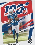 2019 Panini Chronicles Reggie Wayne