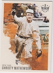 2020 Panini Diamond Kings Christy Mathewson