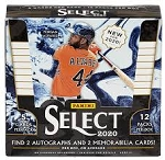2020 Panini Select Baseball Factory Sealed Hobby Box