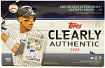 2020 Topps Clearly Authentic Factory Sealed Baseball Box
