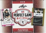 2019 Leaf Perfect Game National Factory Sealed Hobby Box