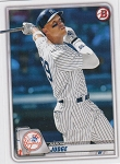 2020 Bowman Baseball Aaron Judge