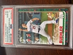 2019 Topps Holiday Walker Buehler Stocking in Background PSA 10 Gem Mint