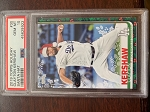 2019 Topps Holiday Clayton Kershaw Santa Hat PSA 10 Gem Mint