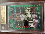2019-20 Panini Mosaic Got Game? Mosaic Green Giannis Antetokounmpo BGS 9.5 Gem Mint