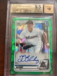 2020 Bowman Chrome Sapphire Prospect Green JJ Bleday auto BGS 9.5 Gem Mint /50
