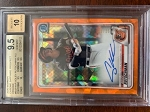 2020 Bowman Chrome Sapphire Prospect Orange Auto Adley Rutschman BGS 9.5 Gem Mint