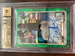 2020 Bowman Chrome Sapphire Prospect Green Luis Patino auto BGS 9.5 Gem Mint /50