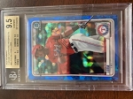 2020 Bowman Chrome Sapphire Prospects Bayron Lora BGS 9.5 Gem Mint