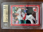 2020 Bowman Chrome Sapphire Prospects Red Jarren Duran BGS 9.5 Gem Mint