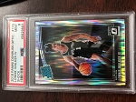2018 Panini Donruss Optic Shock Lonnie Walker IV PSA 9 Mint