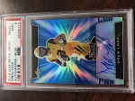 2019 Leaf Metal Draft Drew Lock Auto Blue /35 PSA 9 Mint