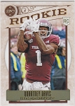 2020 Panini Legacy Football Rookie Quartney Davis RC