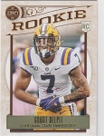 2020 Panini Legacy Football Rookie Grant Delpit RC
