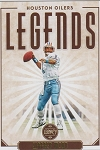 2020 Panini Legacy Football Legends Warren Moon