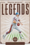 2020 Panini Legacy Football Legends John Elway
