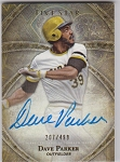 2014 Topps Five Star Dave Parker Auto /499