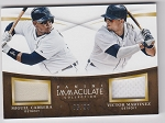 2015 Panini Immaculate Baseball Dual Patch Miguel Cabrera and Victor Martinez /99