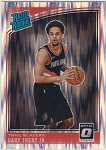 2018-19 Panini Donruss Optic Rated Rookie Shock Refractor Gary Trent Jr.