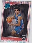 2018-19 Panini Donruss Optic Rated Rookie Shock Refractor Jerome Robinson