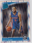 2018-19 Panini Donruss Optic Rated Rookie Shock Refractor Bruce Brown