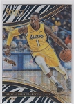 2017-18 Panini Select Basketball Kentavious Caldwell Courtside Zebra Refractor