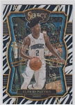2017-18 Panini Select Basketball Elfrid Payton Premier Level Zebra Refractor