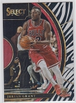 2017-18 Panini Select Basketball Jerian Grant Concourse Zebra Refractor