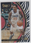 2017-18 Panini Select Basketball Lou Williams Concourse Zebra Refractor