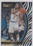 2017-18 Panini Select Basketball Ramon Sessions Concourse Zebra Refractor