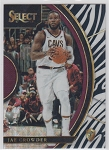 2017-18 Panini Select Basketball Jae Crowder Concourse Zebra Refractor